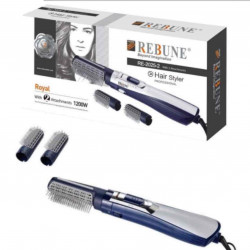Blow dryer with manual combs