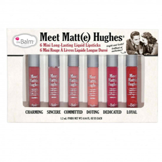 Shades of the Balm mini matte.  first edition